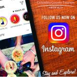 Columbia County Tourism Guide Instagram ad