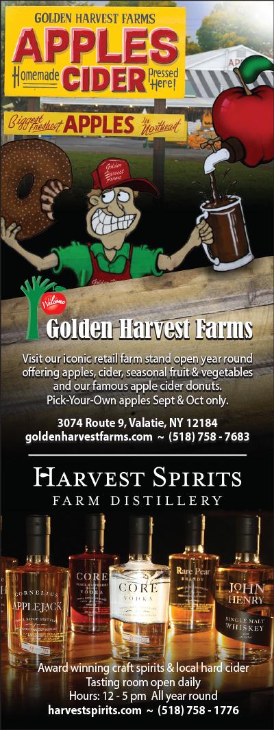 Harvest Spirits display ad