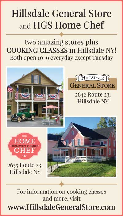 Hillsdale General Store display ad