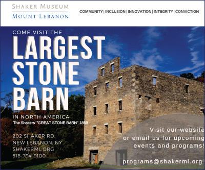 Shaker Museum display ad